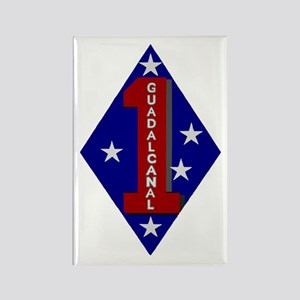 1st Marine Division Rectangle Magnet